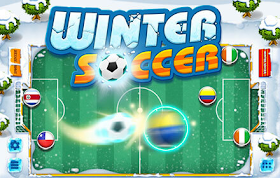 Winter Soccer HTML5 Game