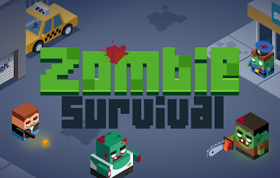 Zombie Survival HTML5 Game