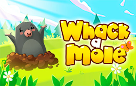 Whack A Mole HTML5 Game