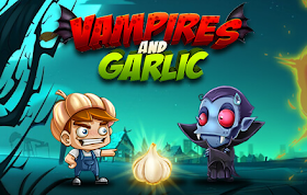 Vampires and Garlic HTML5 Game