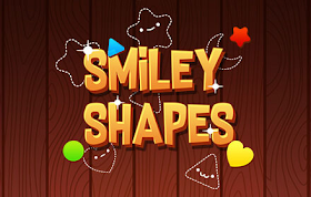 Smiley Shapes HTML5 Game