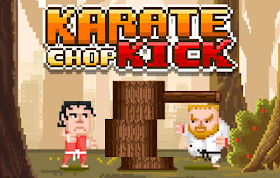 Karate Chop Kick HTML5 Game