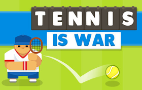 Tennis is War HTML5 Game