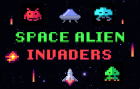 Space Alien Invaders HTML5 Game