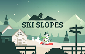Ski Slopes HTML5 Game