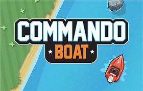 Commando Boat HTML5 Game
