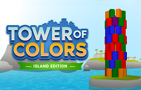 Tower of Colors 3D Island HTML5 Game