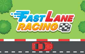 Fast Lane Racing HTML5 Game