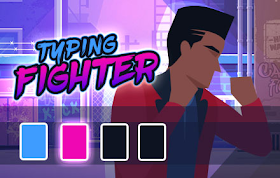 Typing Fighter HTML5 Game