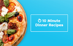 10 Minute Dinner Recipes HTML5 Game