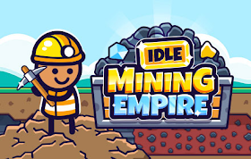 Idle Mining Empire HTML5 Game