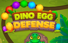 Dino Egg Defense HTML5 Game
