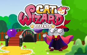 Cat Wizard Defense HTML5 Game