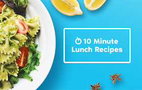 10 Minute Lunch Recipes HTML5 Game