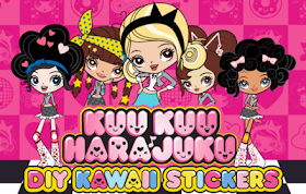 Kuu Kuu Harajuku Stickers HTML5 Game
