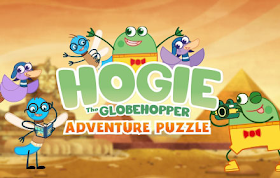 Hogie The Globehoppper Adventure Puzzle - HTML5 Game For Licensing