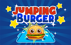 Jumping Burger HTML5 Game