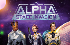 Alpha Space Invasion HTML5 Game