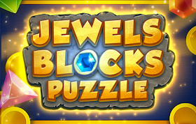 Jewels Blocks Puzzle HTML5 Game
