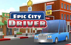 Epic City Driver HTML5 Game