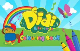 Didi & Friends Coloring Book HTML5 Game
