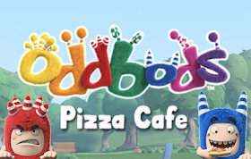 Oddbods Pizza Cafe HTML5 Game