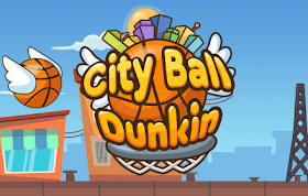 City Ball Dunkin HTML5 Game