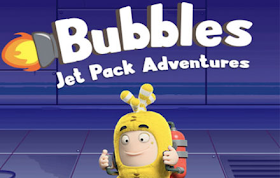 Oddbods Bubbles Jetpack Adventures HTML5 Game