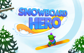 Snowboard Hero HTML5 Game