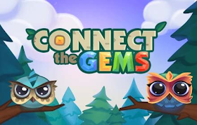 Connect The Gems HTML5 Game