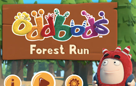 Oddbods Forest Run HTML5 Game