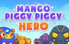 Mango Piggy Piggy Hero HTML5 Game