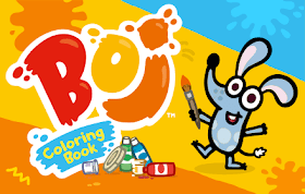Boj Coloring Book HTML5 Game