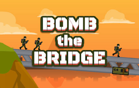 Bomb The Bridge HTML5 Game