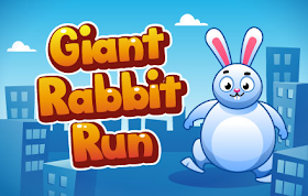 Giant Rabbit Run HTML5 Game