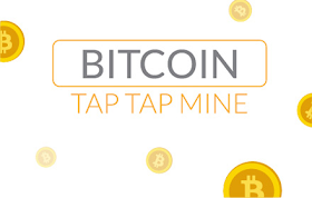 Bitcoin Tap Tap Mine HTML5 Game