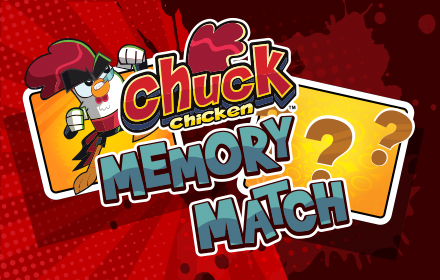 Kids HTML5 Games - Chuck Chicken Memory