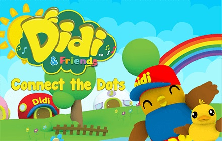 Kids HTML5 Games - Didi and Friends Connect The Dots