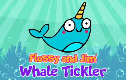 Kids HTML5 Games - Flossy and Jim Whale Tickler