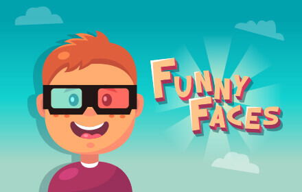Kids HTML5 Games - Funny Faces, A Pattern Matching Game For Kids