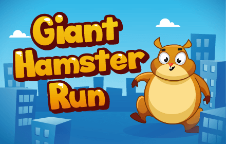 Kids HTML5 Games - Giant Hamster Run