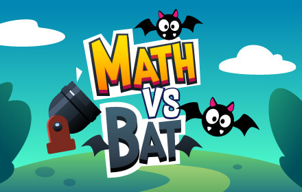 Kids HTML5 Games - Math vs Bat