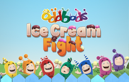 Kids HTML5 Games - Oddbods Ice Cream Fight