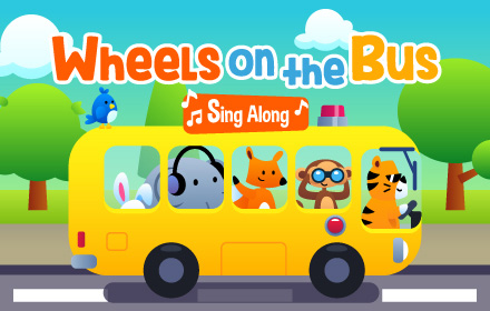 Kids HTML5 Games - Wheels On The Bus Sing Along