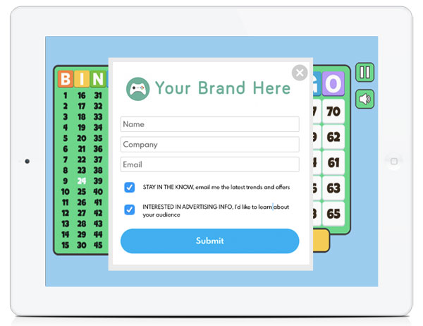 White Label Board Game HTML5 Lead Generation