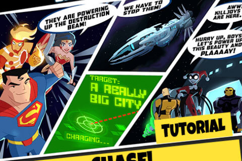 Justice League Action HTML5 Game