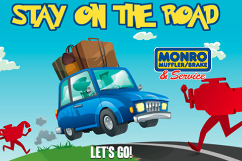 Monro HTML5 Game - Stay On The Road