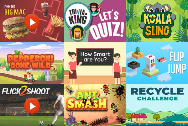 Gamification Catalog of HTML5 Games