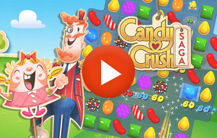 Playable Ad HTML5 Candy Crush