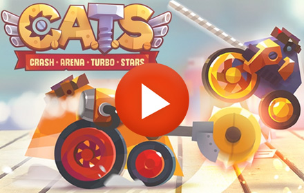 Playable Ad HTML5 CATS Crash Arena Turbo Stars